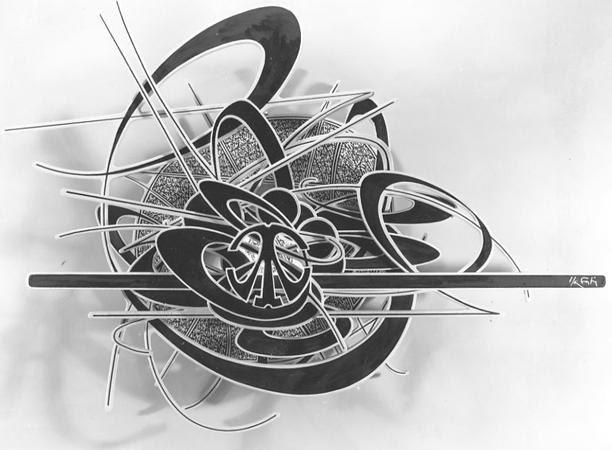 Alain Sati� : Lampe murale