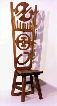 Alain Sati� : Chaise